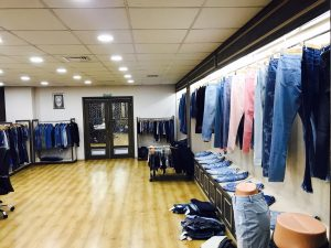 denim showroom